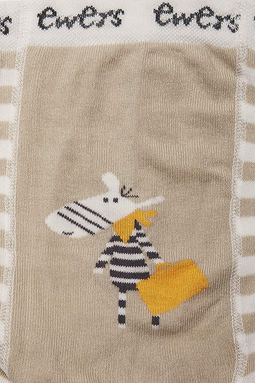 Jungenstrumpfhose Strumpfhose Baumwolle MADE IN EUROPE Ewers Babystrumpfhose f/ür Jungen Pomotiv Zebra