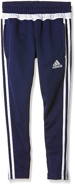 60ade0336e450 Amazon.com : adidas Tiro 15 Training Skinny Pants (Youth) - Navy ...