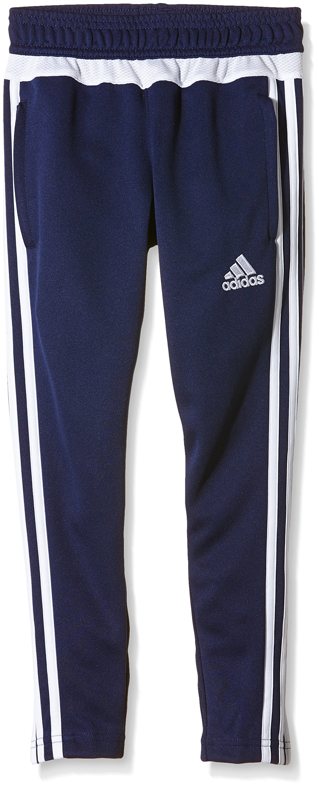 adidas Tiro 15 Training Skinny Pants (Youth) - Navy Blue/White - Age 13-14 by adidas (Image #1)