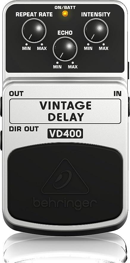 Behringer VD400 - Pedal de efecto delay para guitarra: Amazon.es ...