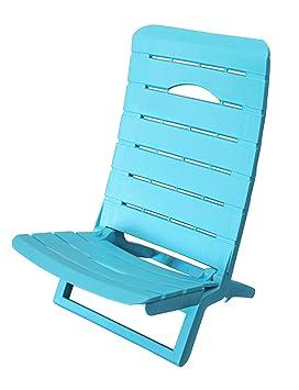 Shaf Silla de Playa, Azul, 56x44x69 cm, 55078
