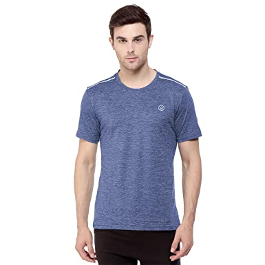5a828c7b73 CHKOKKO Round Neck Regular Fit Dry Fit Stretchable Yoga Gym Sports Tshirts  for Men: Amazon.in: Clothing & Accessories
