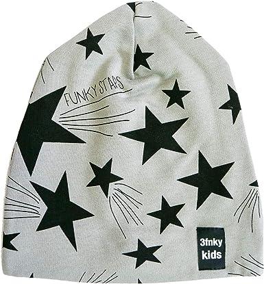 3fnky kids Gorro para niños y niñas de 2 a 8 años - Stars (6-8 ...