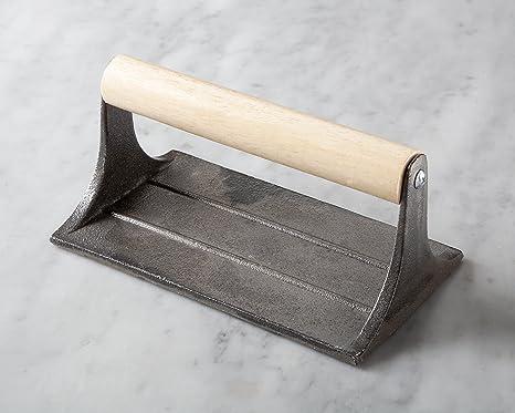 Amazon.com: Outset Q173 - Cacerola de hierro fundido con ...