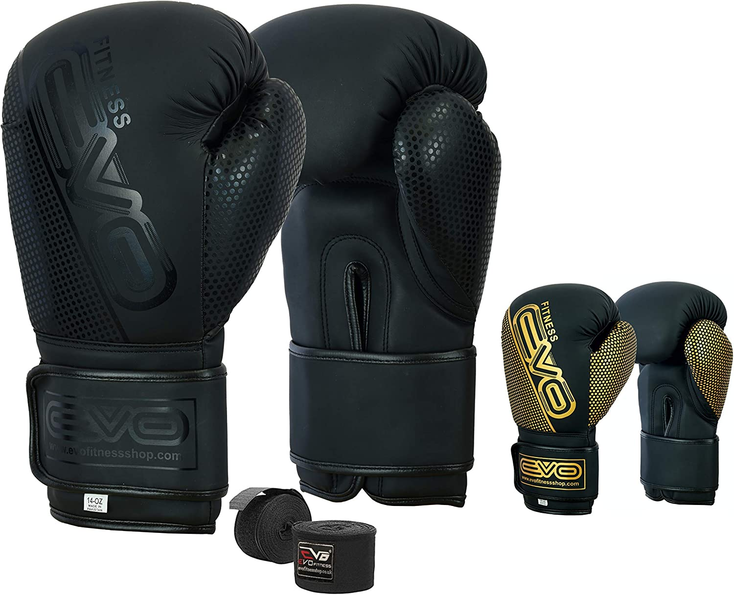 Boxing Gloves Sparring Punch Bag Gym Training Fight MMA Muay Thai Kickboxing UK