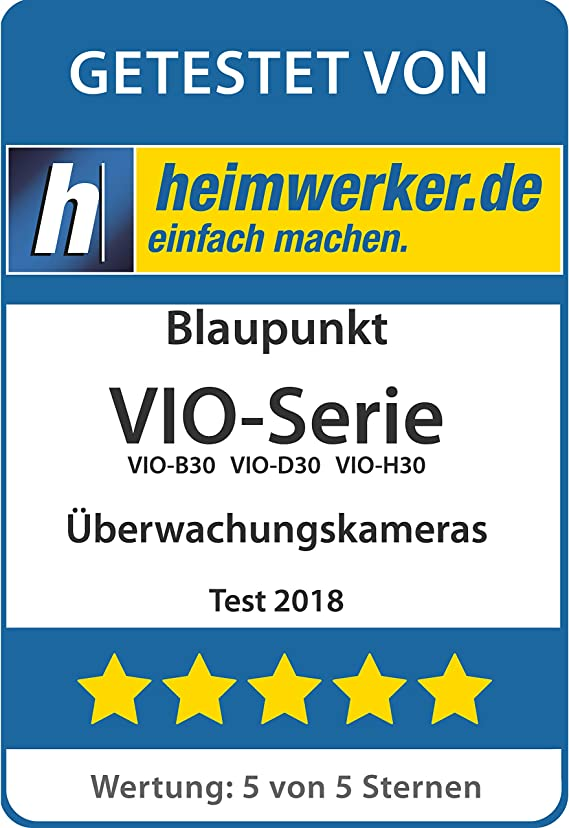 Blaupunkt Indoor Full Hd Überwachungskamera Vio Hs20 Wlan Ip Kamera 1080p Sicherheitskamera Nachtsicht Bewegungsmelder Gegensprechfunktion Baumarkt