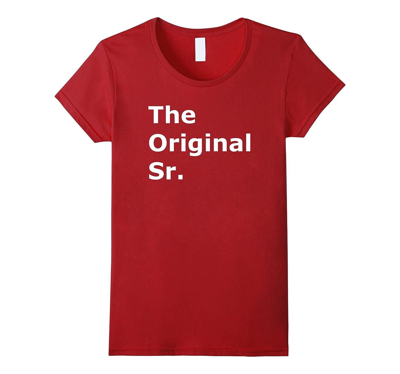 The Original Senior Matching Birthday T-Shirt