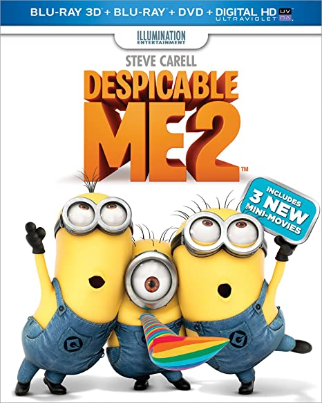 Despicable Me 2 Blu-ray 3D + D...