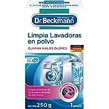 Dr. Beckmann Limpia Lavadoras Polvo, Elimina Malos Olores y Limpia Higiénicamente, 250 g, 1 pieza