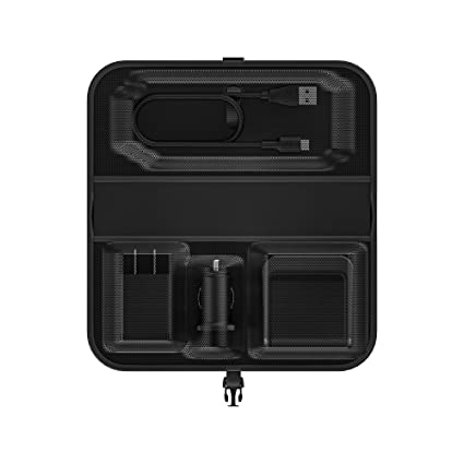 newest 49a5b e6d2c mophie Travel Kit - Portable, Wireless Charging for Samsung, Apple iPhone  8/iPhone X and Other Qi-Enabled Smartphones - Black