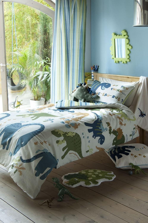 Catherine Lansfield Kids Dino Single Quiltset Multicoloured TURNER BIANCA BDB2 5864 WSHQ