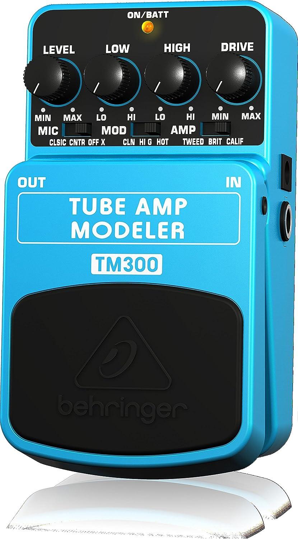 Behringer TUBE AMP MODELER TM300 tubo de modelado de amplificadores efecto de pedal: Amazon.es: Juguetes y juegos