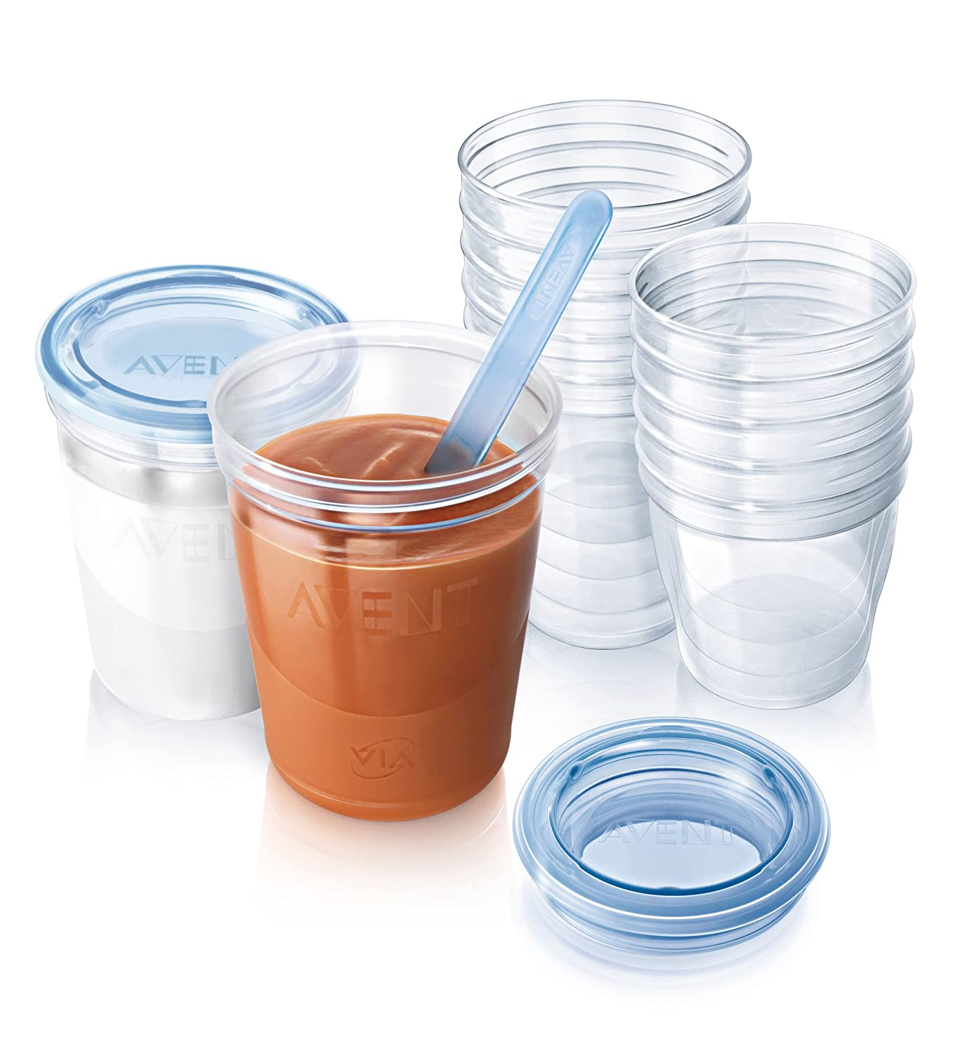 Philips Avent Scf720/10 Via Baby Food Storage Set HealthCentre