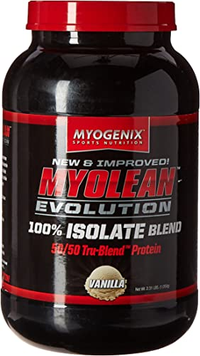 Myogenix Myolean Evolution Isolate Powder, Vanilla Cream, 2.31 Pound