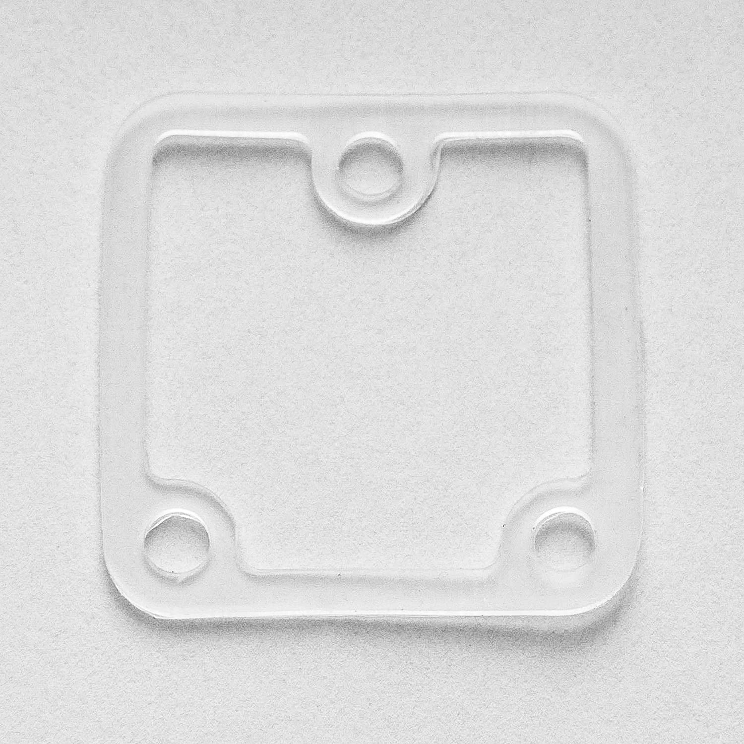 Land Rover Discovery 2 II Range Rover P38a Throttle Body Heater Plate Flange Defroster Repair SILICONE Gasket