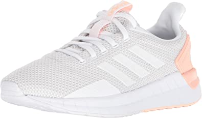 adidas Womens Questar Ride W Running Shoe, White/Grey One/Haze Coral, 8.5 M US: Amazon.es: Zapatos y complementos