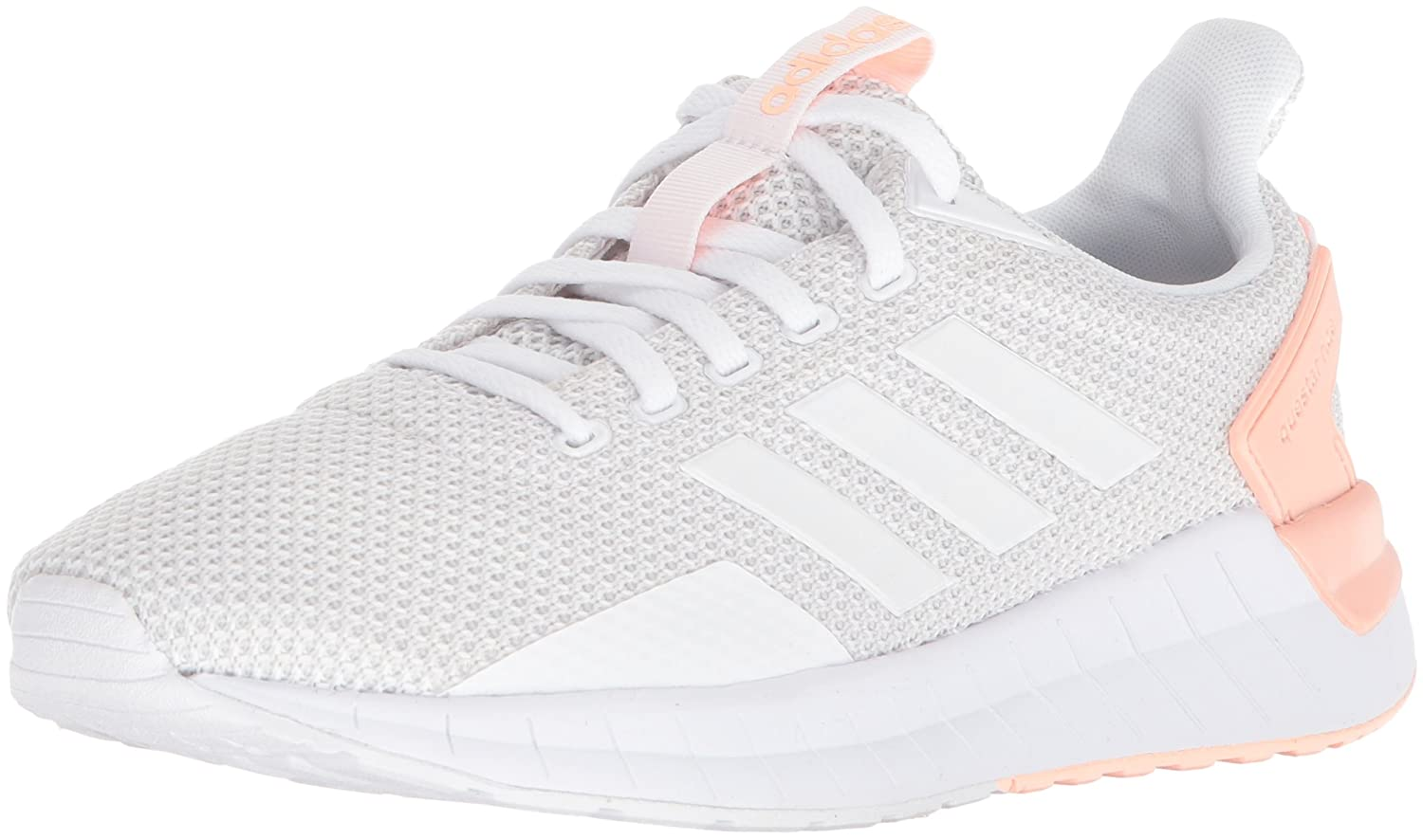 adidas Women's Questar Ride W Running Shoe B071Z87BKC 9 B(M) US|White/Grey One/Haze Coral