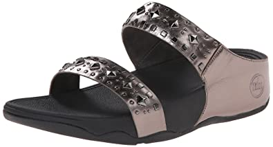 3cf3bf900df5bc Fitflop Women s 477 Sandals Grey Size  7  Amazon.co.uk  Shoes   Bags