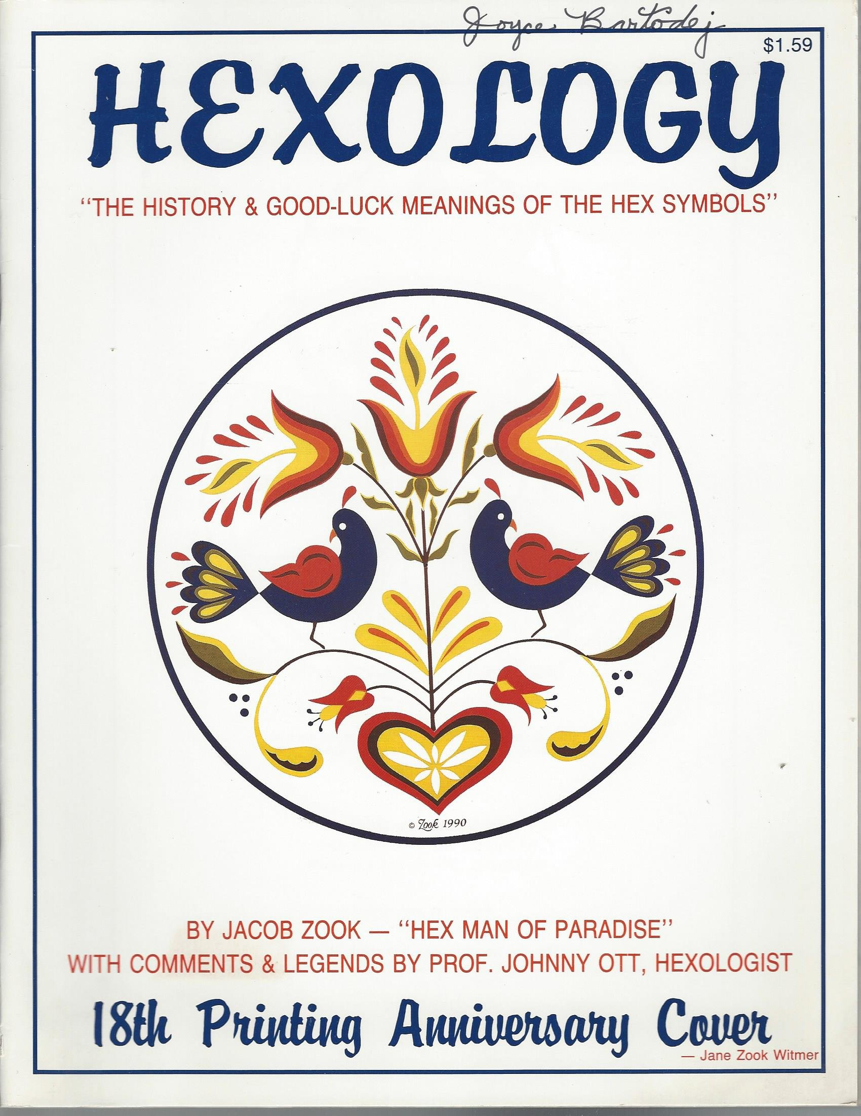 Hexology The History Good Luck Meanings Of The Hex Symbols Jacob