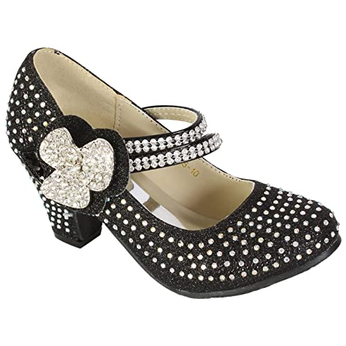 Zapatos de flamenco para niños, niños pequeños y bebés, color, talla 28 EU Niño