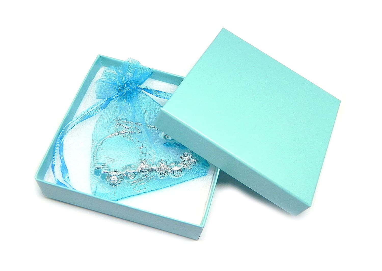 Gift Boxed SanaBelle/™ My Little Girl Personalised Engraved Charm Bracelet Girls