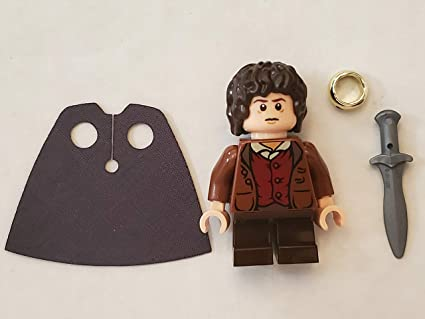 Lord  Of The Rings Lego  Minifigure Gandalf Frodo Baggins Hobbit