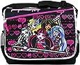 12bf95d26923 Amazon.com  GoodyPlus Monster High School Shoulder Messenger Bag ...