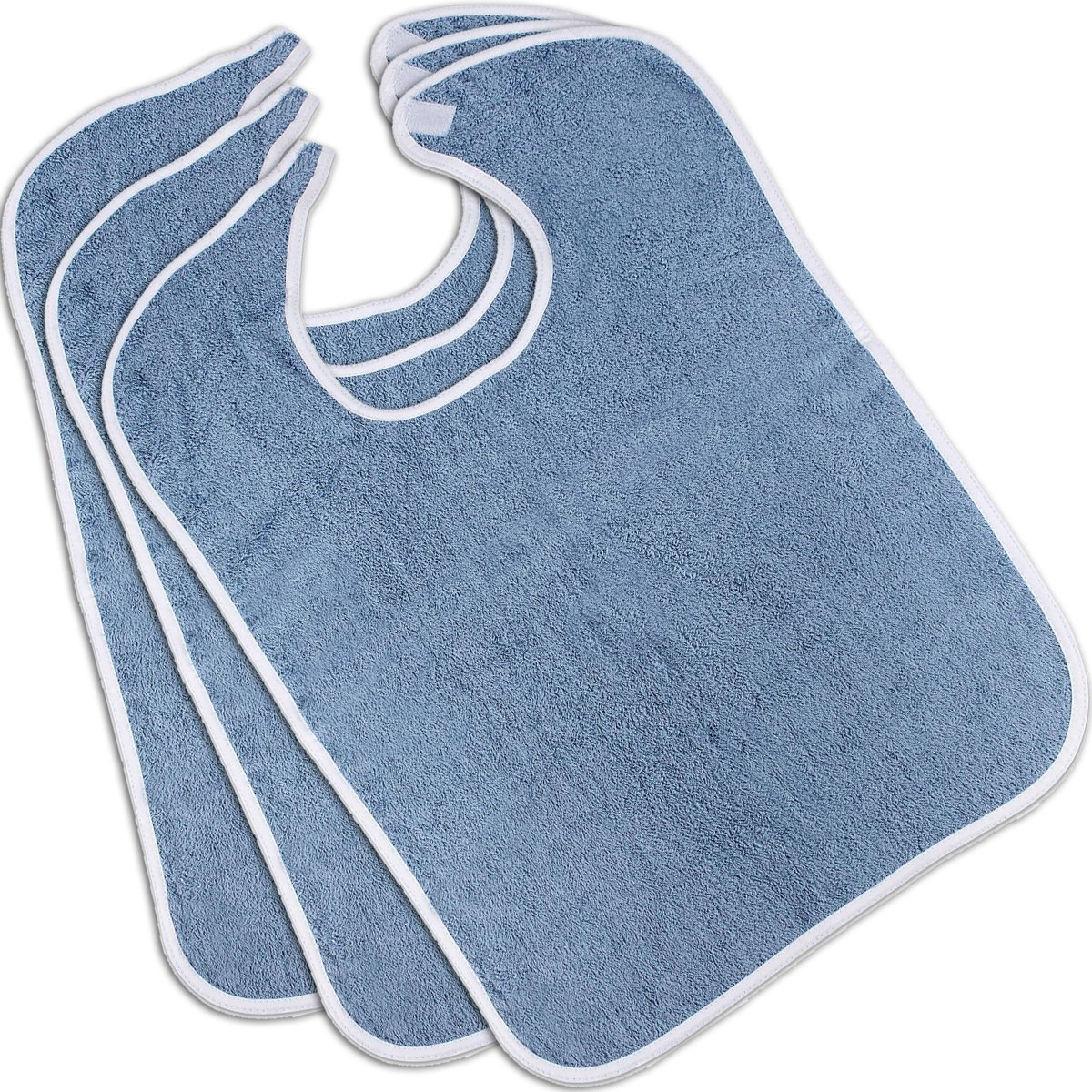 b31d29e0d Amazon.com  Utopia Towels Premium Quality Terry Adult Bibs (3-Pack ...