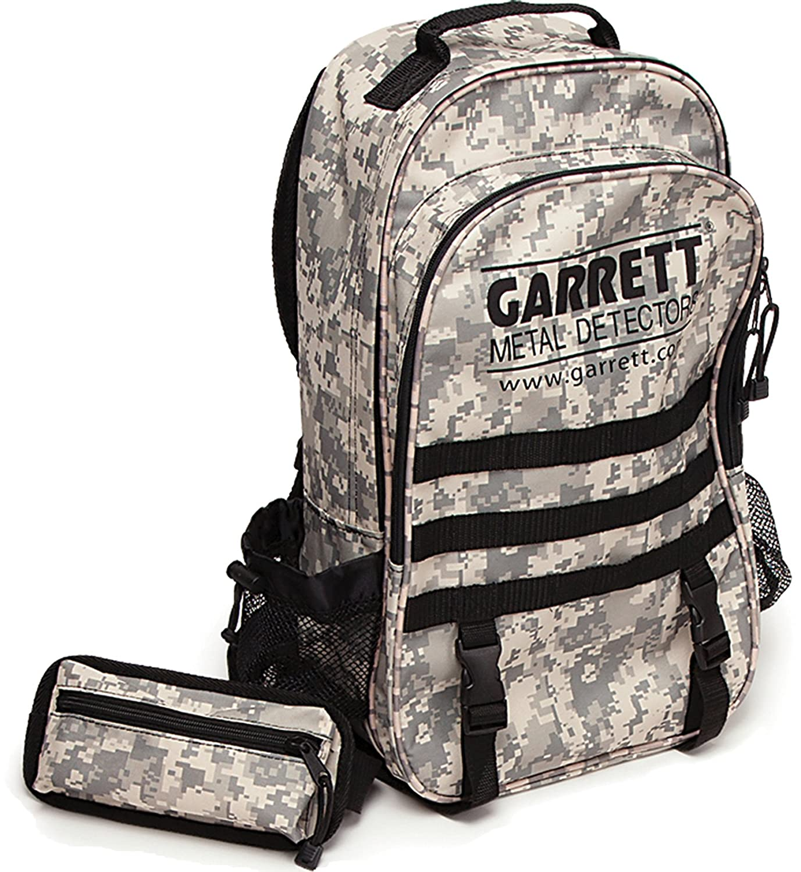 Garrett AT Pro Detector de metales con camuflaje mochila: Amazon.es: Jardín