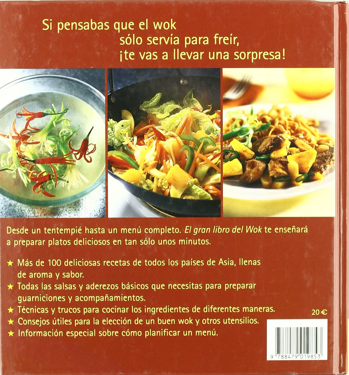 El Gran Libro del Wok (Spanish Edition): 9788479019853: Amazon.com: Books