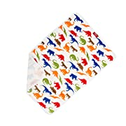 Baby Portable Diaper Changing Pad for Travel - Compact Infant Change Mat - Dinosaur Print Large