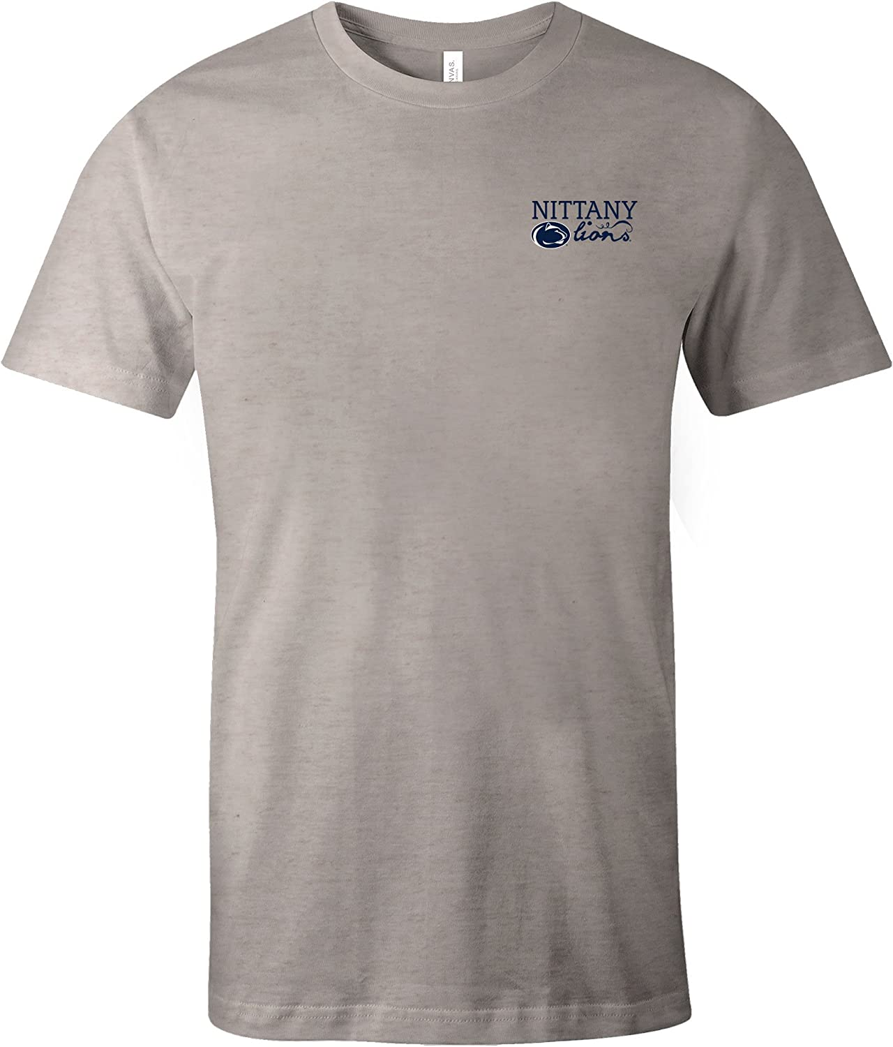 Image One NCAA Hand Type Short Sleeve Triblend T-Shirt