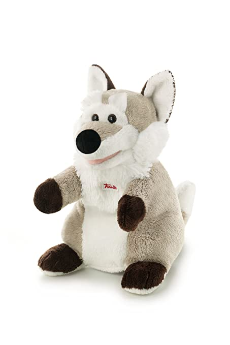 TRUDI Plush Toy - Wolf Puppet - centimeters 25 - (code 29915)