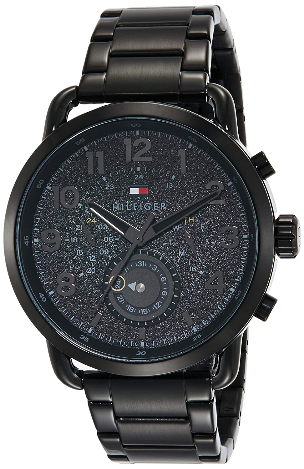 2e43f3e7d83f0a Buy Tommy Hilfiger Analog Black Dial Men s Watch - TH1791423 Online at Low  Prices in India - Amazon.in