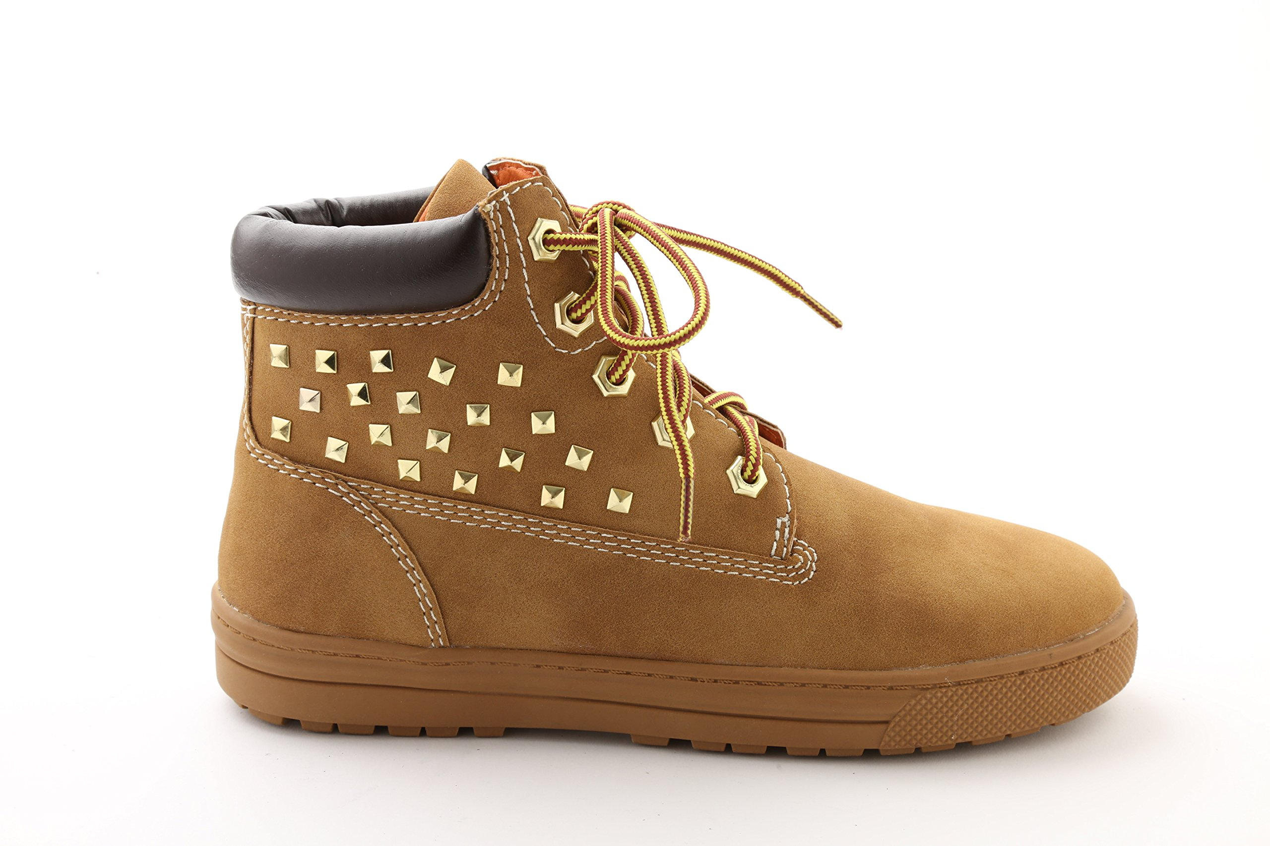 Pastry Adult Butter Boot Dance Sneaker, Wheat, Size 5.5