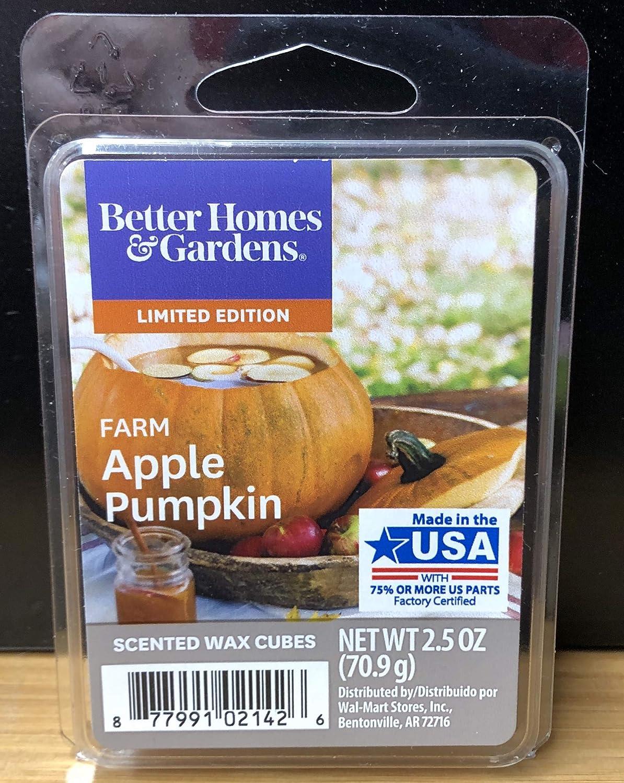 Better Homes and Gardens Farm Apple Pumpkin Scented Wax Cubes