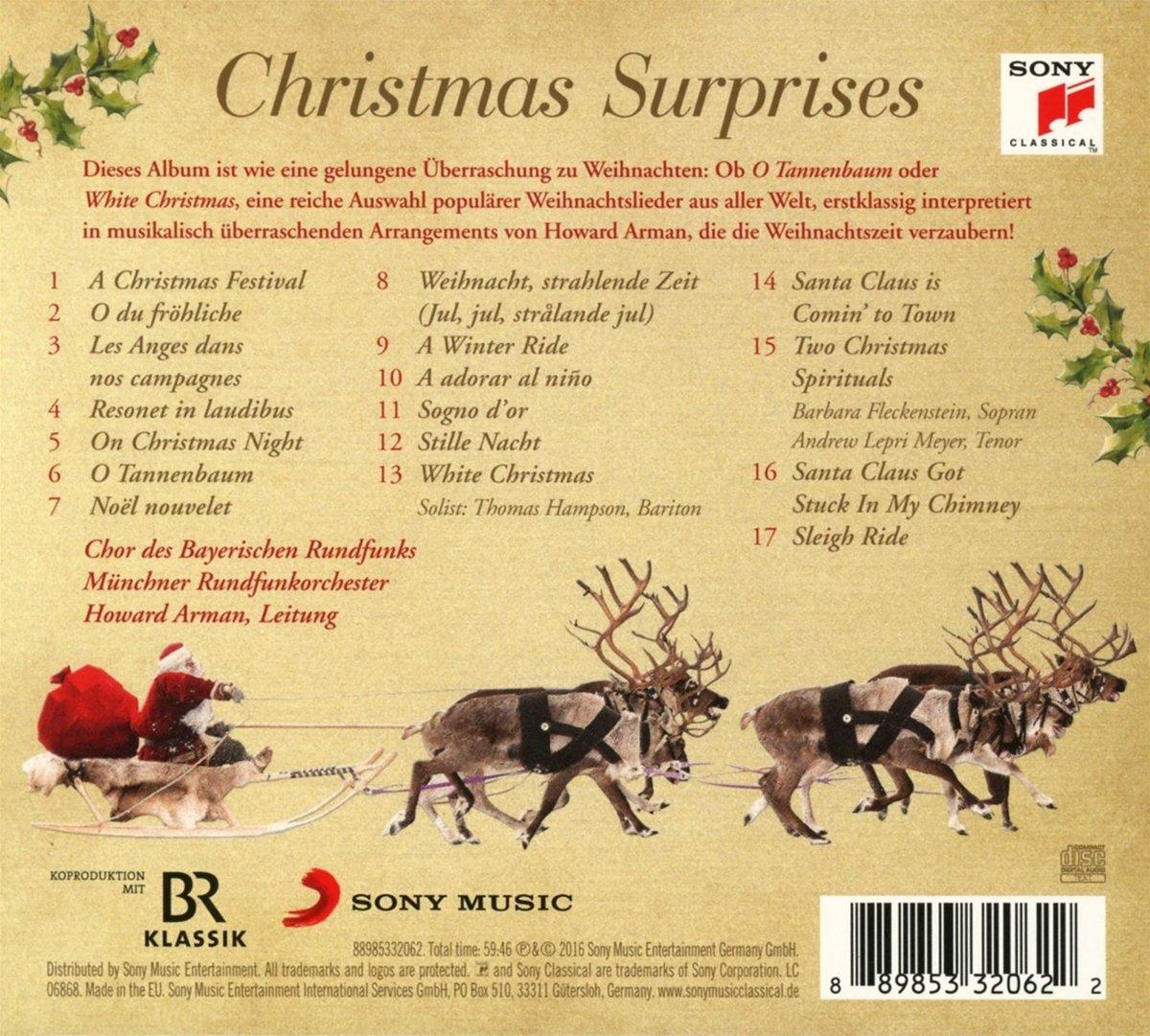 Christmas Surprises - Münchner Rundfunkorchester, Chor des ...