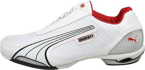 Escándalo raro privado  Amazon.com | PUMA Men's Testastretta Mesh Ducati Sneaker, Gray/White/Black,  6 D | Fashion Sneakers