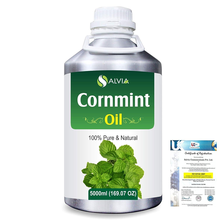 Cornmint Oil (Mentha arvensis) 100% Natural Pure Essential Oil 5000ml/169fl.oz. B07R4Y91CN