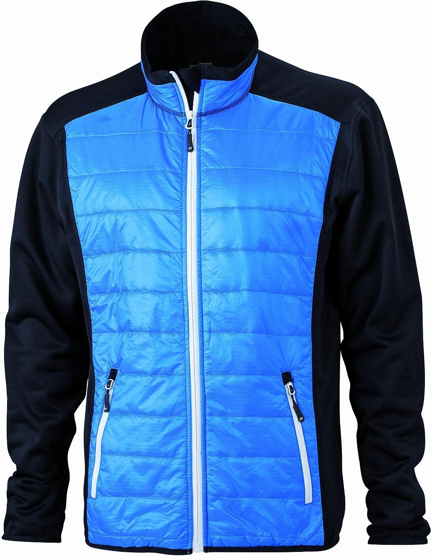 James /& Nicholson Jacke Stretchfleece Mens Hybrid Jacket Soft Shell para Hombre