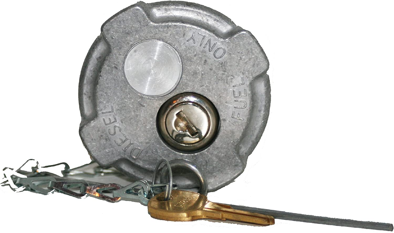"""Fuel Tank Accessories Locking 2 1/4"""" Diesel Fuel Cap for Reefer/International MD Semi Trucks"""