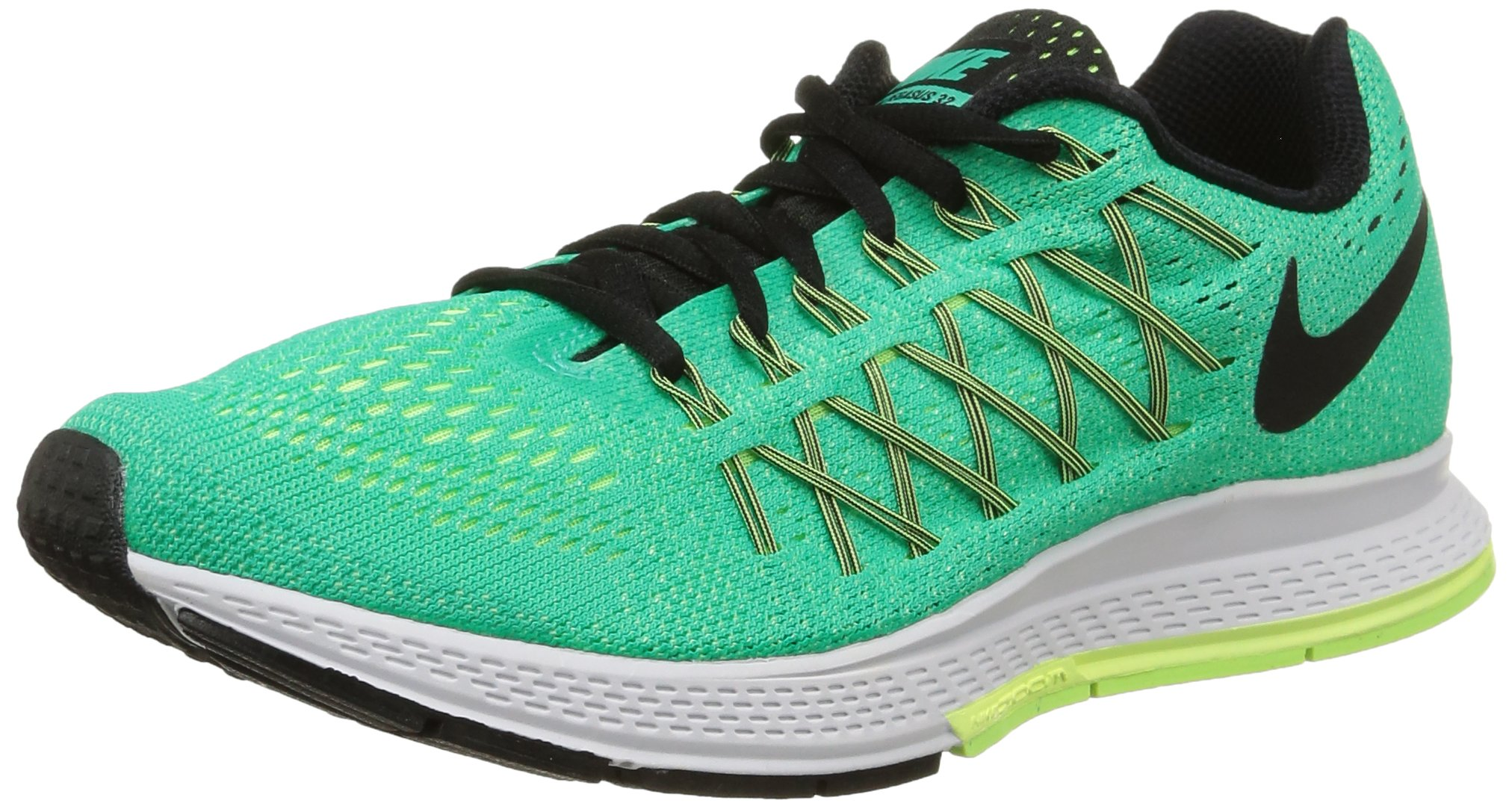 a903793b0105 Galleon - Nike Women s Air Zoom Pegasus 32 Menta Black Lqd Lime Ghst Grn  Running Shoe 8 Women US