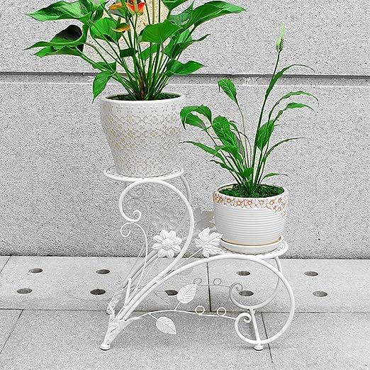 JKL-Soportes para Plantas Terraza Floor Ladder Pot Rack Sala de ...