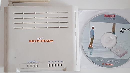 115 opinioni per Telecom Italia 721772 Modem ADSL2+, Wi-Fi, 4 Porte Ethernet, [Italia], Bianco