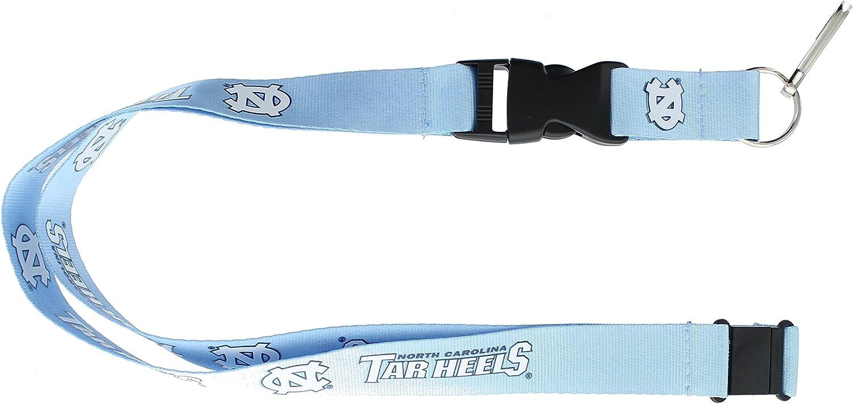 NCAA North Carolina Tarheels Blue Breakaway Lanyard Key chain