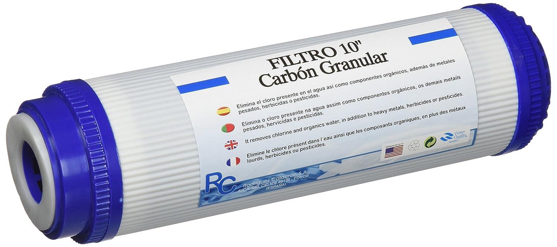 RC UDF-1-C Box Filtro de Carbó n Granular, 10' x 2.8' 10 x 2.8 Rodriguez Calderon