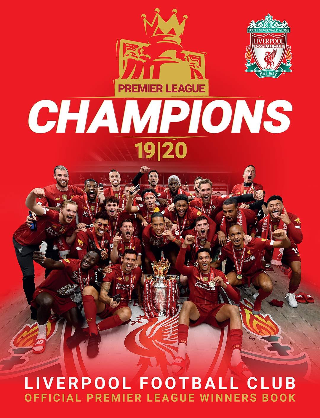 Champions Liverpool Fc Premier League Winners 19 20 Liverpool Fc Amazon Nl