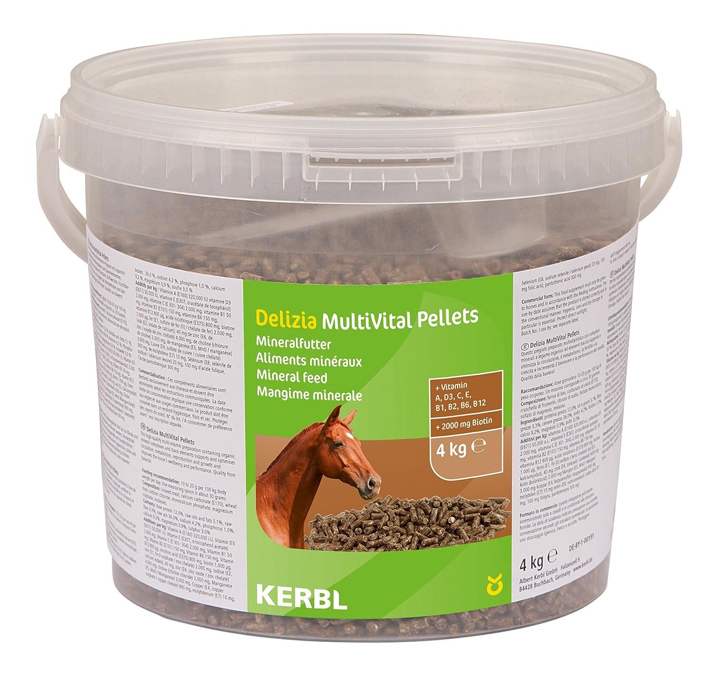 Kerbl MultiVital Pellets Complément Alimentaire pour Cheval 4 kg 325121