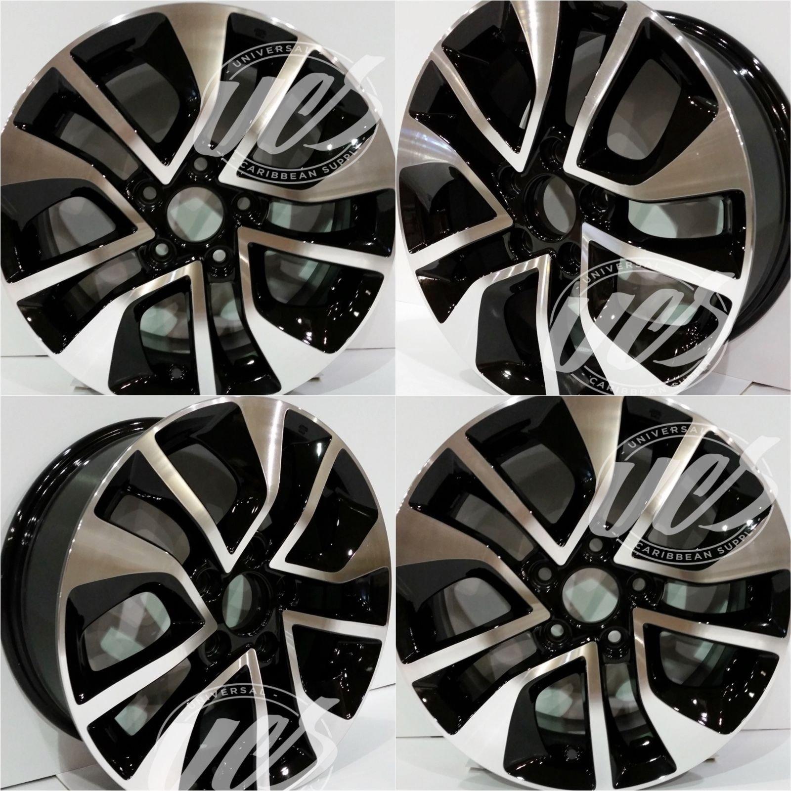 New 16 Inch Alloy Wheels Rims Compatible With Honda Civic 2013 2015 Set Of 4 Pcs Aly64054u45n Buy Online In Bosnia And Herzegovina At Bosnia Desertcart Com Productid 33637385