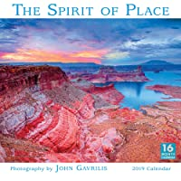 2019 The Spirit of Place 16-Month Wall Calendar: by Sellers Publishing, 12x12 (CA-0407)